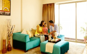Lodha Palava Codename Golden Tomorrow Living Room