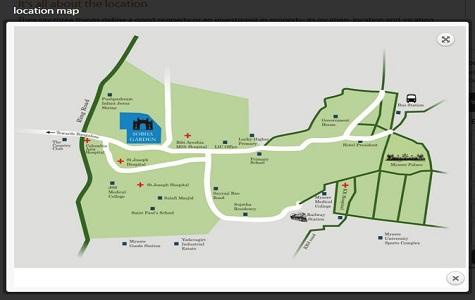 Sobha Garden Location Map