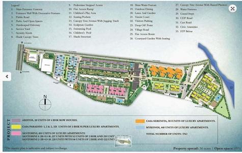 Sobha Santorini Master Plan