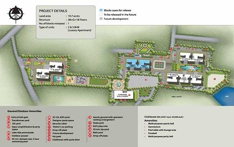 Sobha The Park & The Plaza Master Plan