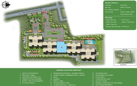 Sobha Valley View Master Plan