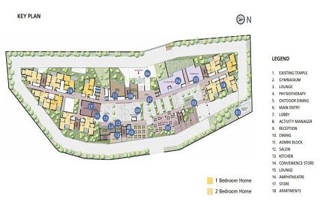 Brigade Orchards Luxury Apartments Master Plan