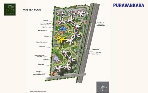 Purva Gold Crest Master Plan