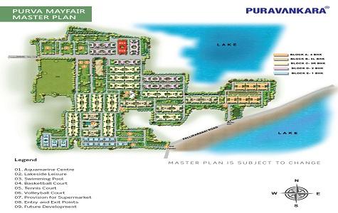 Purva Mayfair Master Plan