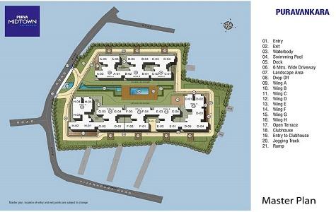 Purva Midtown Residences Master Plan