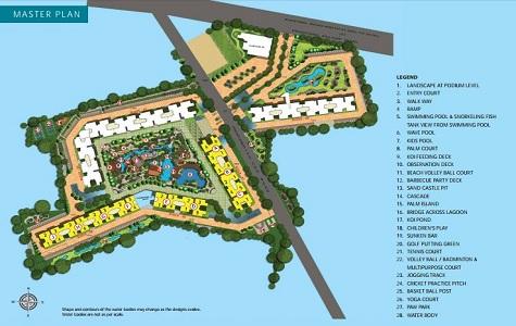 Purva Palm Beach Master Plan