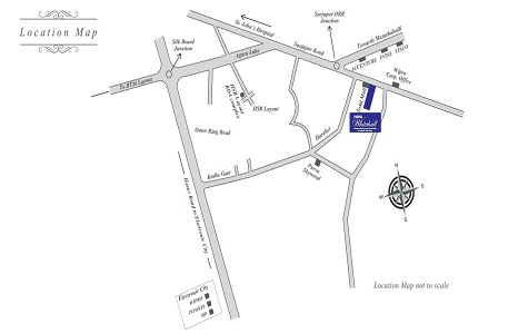 Purva Whitehall Location Map