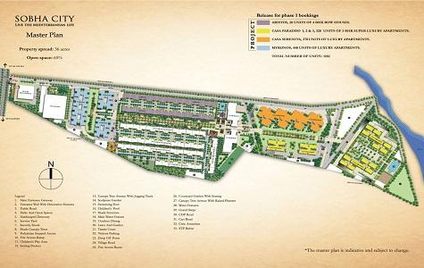 Sobha City Casa Paradiso Master Plan