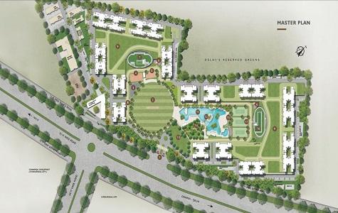 Sobha City Delhi Master Plan