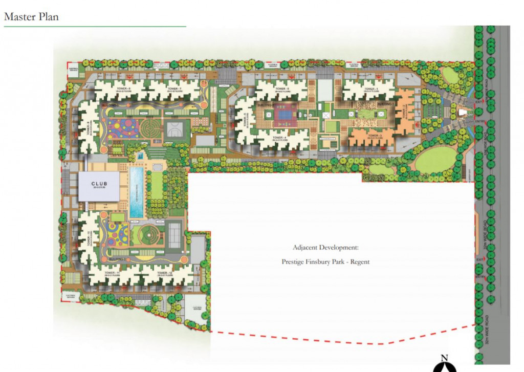 Prestige Finsbury Park Hyde Master Plan